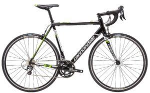2016 Cannondale CAAD8 7 Tiagra Gloss Black/ Green Men's Race Road Bike