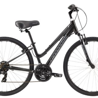 2017 Cannondale Adventure 3 Womens Nearly Black/Gray Com