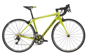 2017 Cannondale Synapse Carbon Women's 105 Neon Spring / Black Road Bike