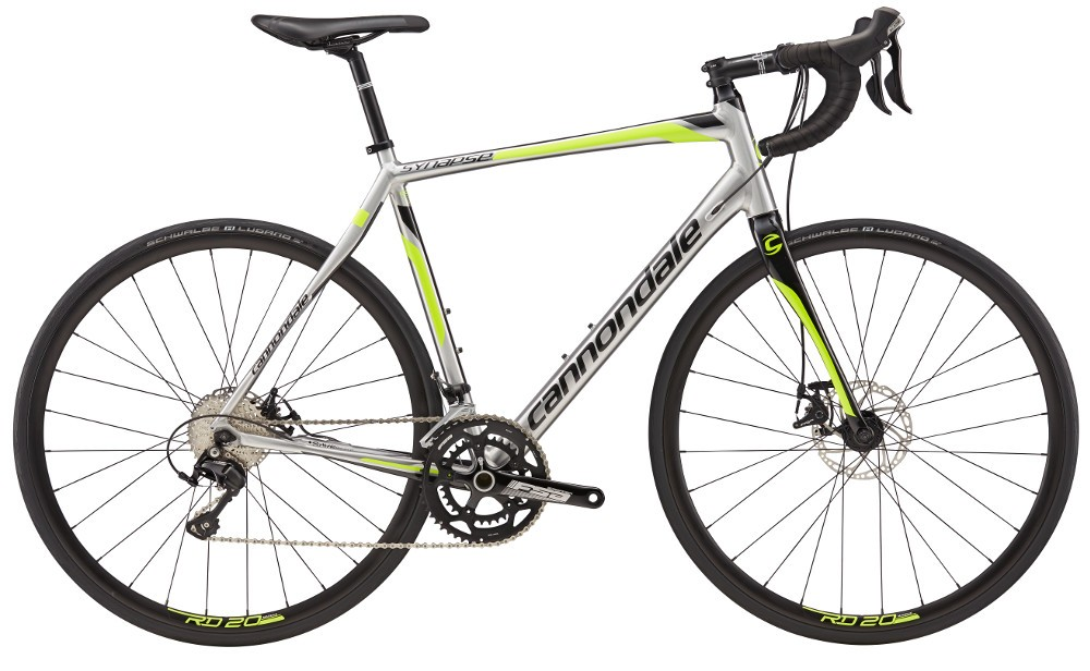 2017 Cannondale Synapse 5 105 Disc Raw/Green – Bicycle One