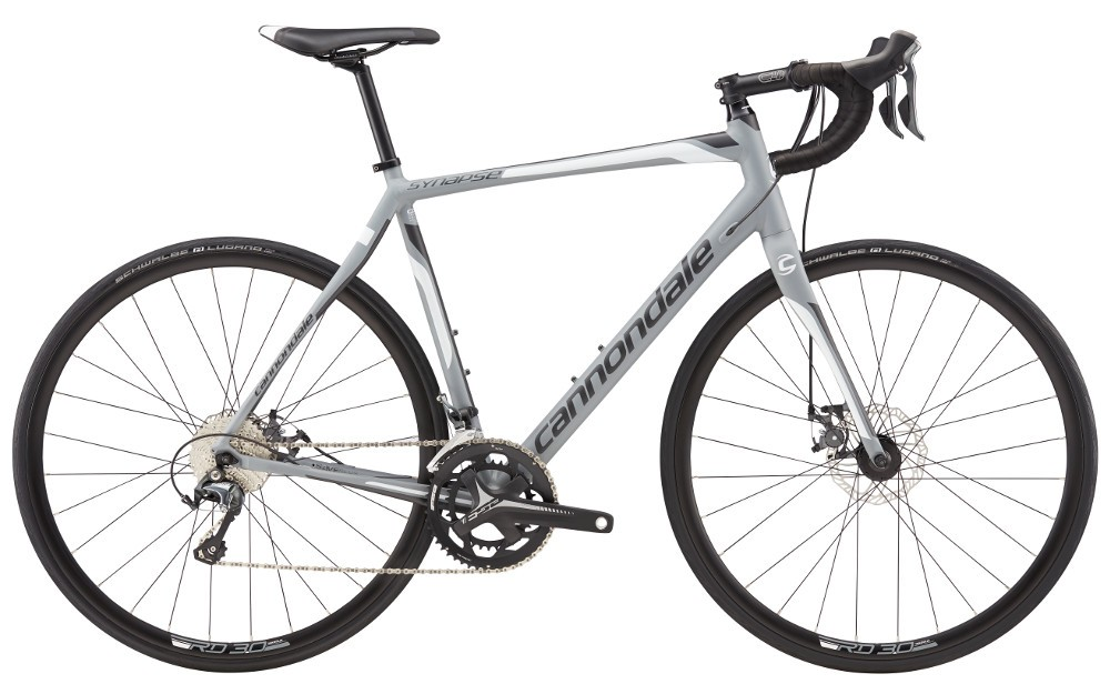 2017 Cannondale Synapse 6 Tiagra Gray/Black Men's Endurance Road Bike