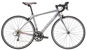 2017 Cannondale Synapse 8 Claris Gray/Pink Women's Endurance Road Bike
