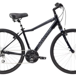 2017 Cannondale Adventure 1 Mens Midnight Blue/Silver Men's Comfort Hybrid
