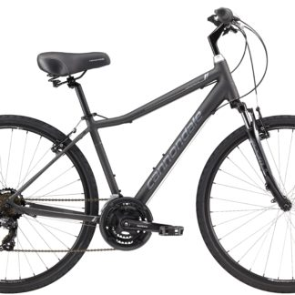 2017 Cannondale Adventure 3 Mens Nearly Black/Silver Comfort Hybrid