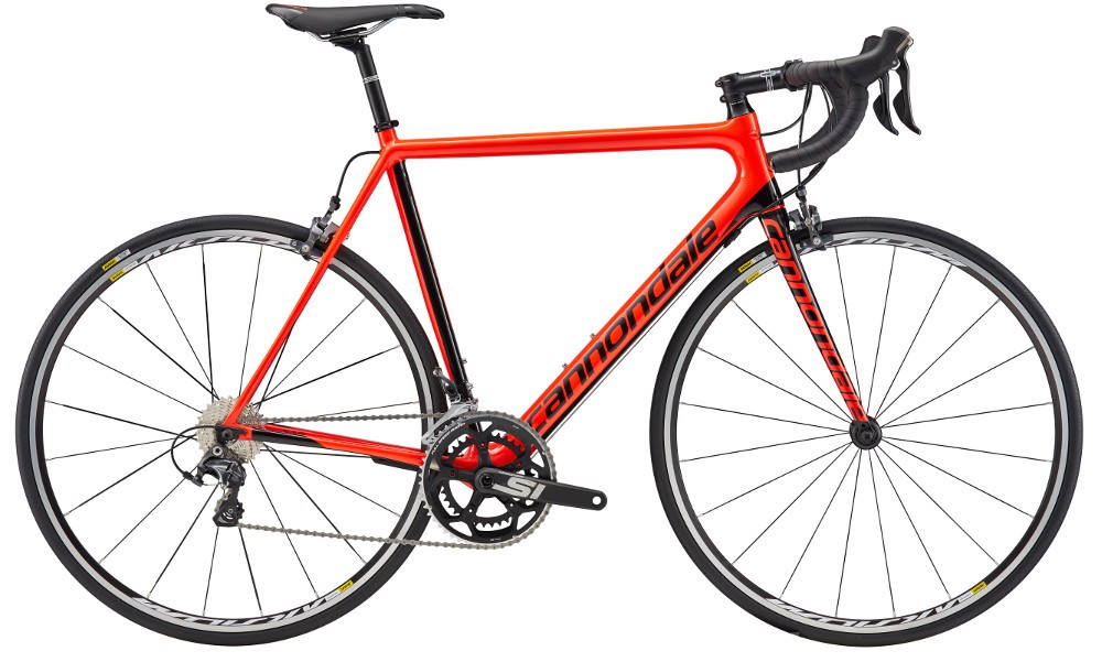 2017 Cannondale Supersix EVO Ultegra Acid Red/Black