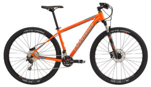 2017 Cannondale Trail 3 Orange/Silver/Gray