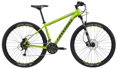 2017 Cannondale Trail 4 Green/Black/Silver