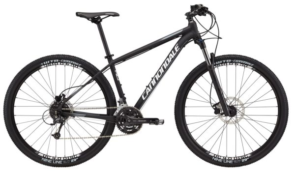 2017 Cannondale Trail 4 Black/White