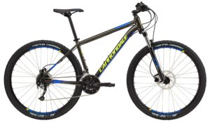 2017 Cannondale Trail 5 Gray/Yellow/Blue Men's Hardtain Mountain Bike
