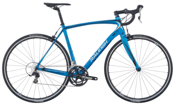 2017 RALEIGH REVENIO CARBON 1 BLUE MENS ROAD BIKE