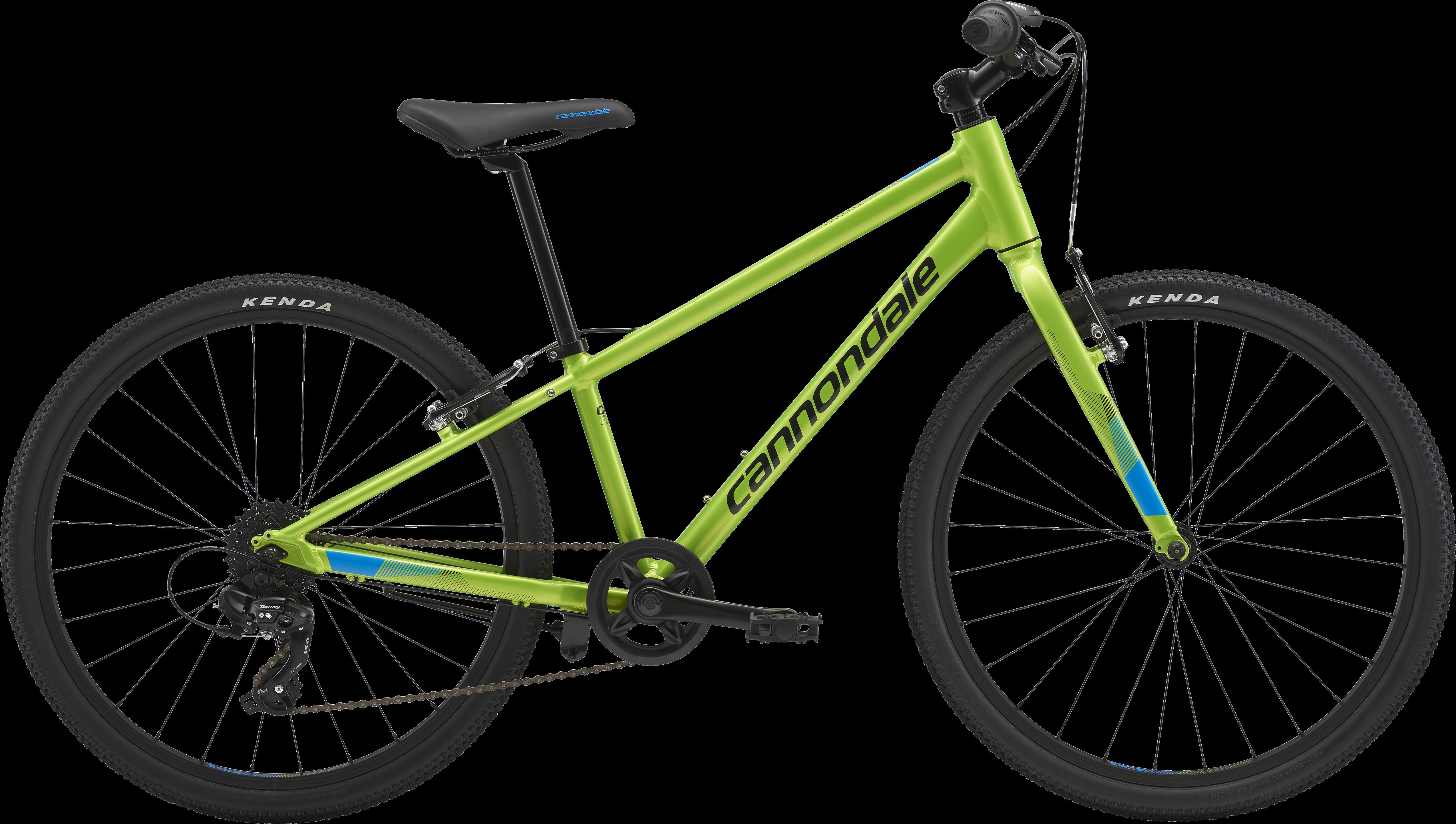 2018 Cannondale Quick 24 Boy's Acid Green Hybrid