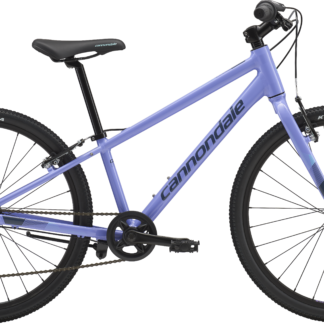 2018 Cannondale Quick 24 Girl's Violet Hybrid