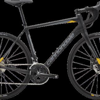 2018 Cannondale Synapse Disc Tiagra Black/Yellow Men's Endurance Road Bike