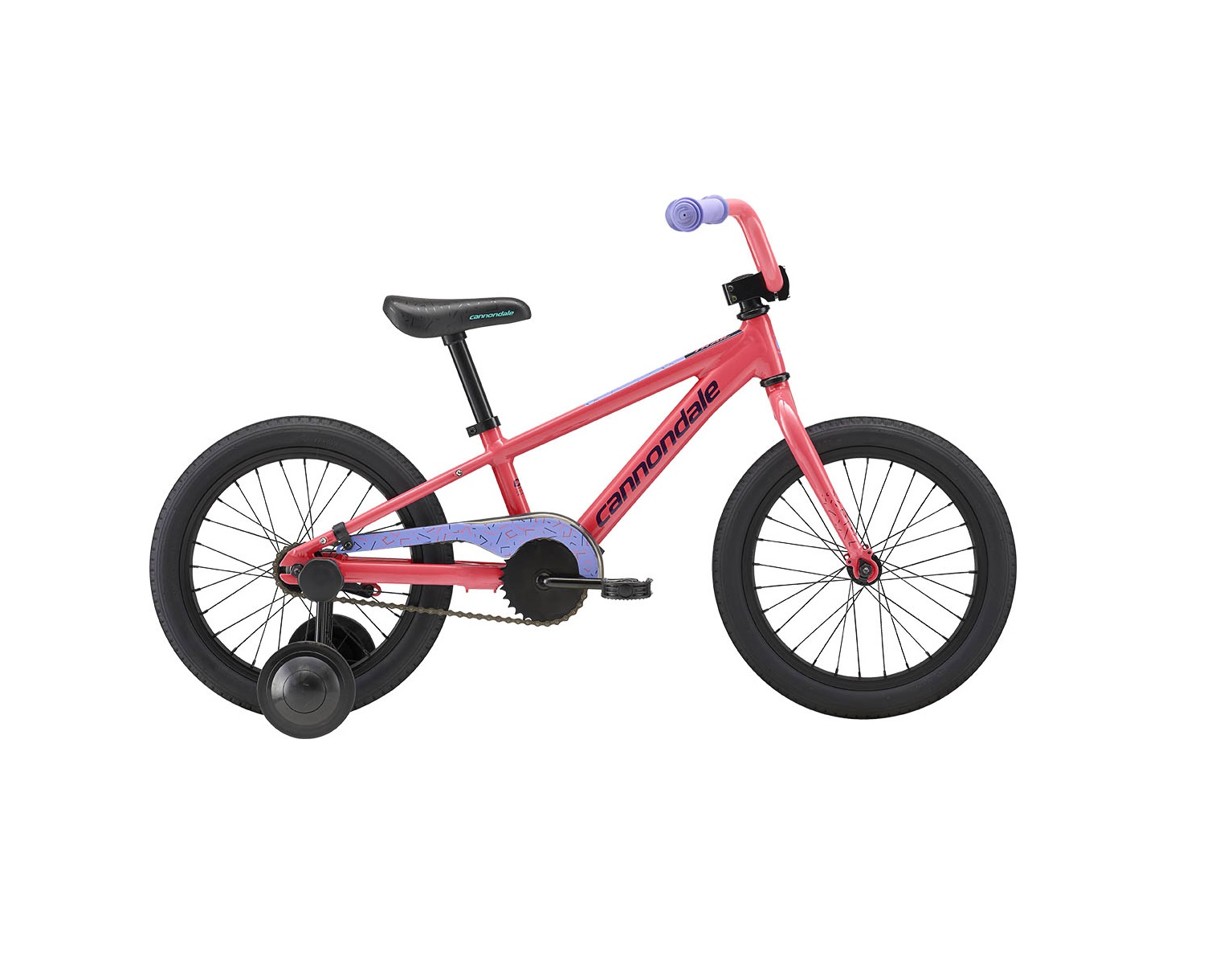 53db0f3cfbb 2019 Cannondale Trail 16 Single-Speed Girls Coral – Bicycle One