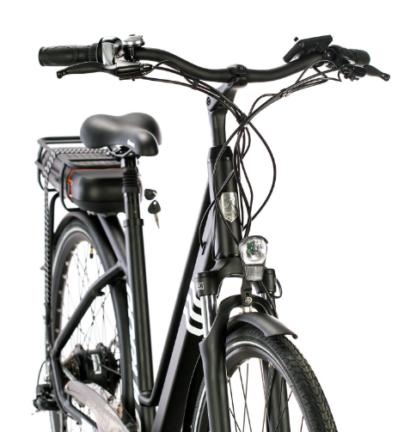 2017 Populo Lift Electric Bike Black/White
