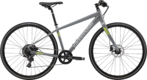 2018 Cannondale Quick 2 Disc Gray Womens Fitness Hybrid