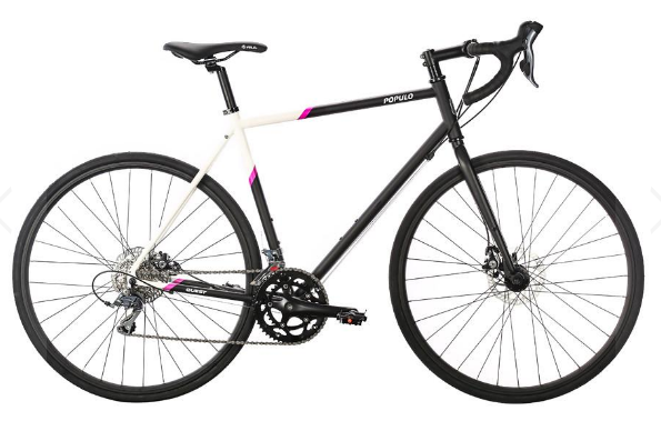 2017 Populo Quest Black Mens/Womens Gravel Bike :)