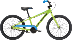 2018 Cannondale Trail 20 Single-Speed Acid Green Boy's Bicycle