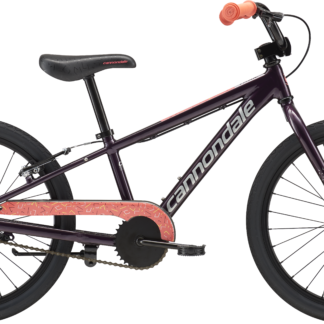2018 Cannondale Trail 20 Single-Speed Purple Girl's Bicycle