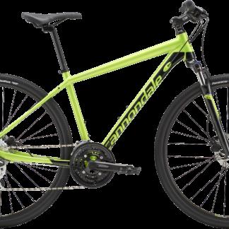 2018 Cannondale Quick CX 4 Acid Green/ Jet Black Men's Dual Sport Bicycle
