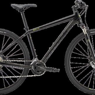 2018 Cannondale Quick CX 1 Black Men's Dual Sport Bicycle
