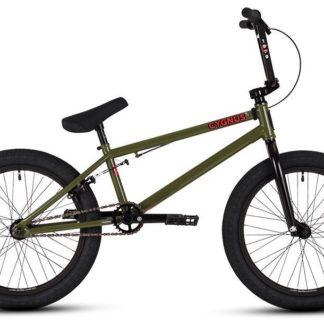 """2017 DK Cygnus 20"""" Green BMX Bike"""