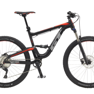 2018 GT Verb Expert Black/Red Men's Full Suspension Bike