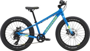 2018 Cannondale Cujo 20 Blue Kid's Fat Tire Bike