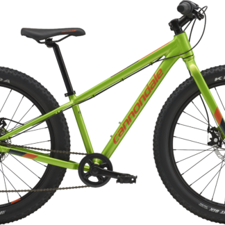 "2018 Cannondale Cujo 24 Green Kid's 24"" Fat Tire Bike"