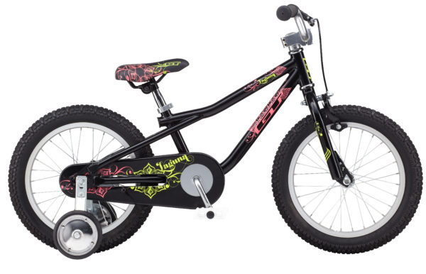 "2014 GT Laguna 16"" Black Girl's Single Speed Bicycle"