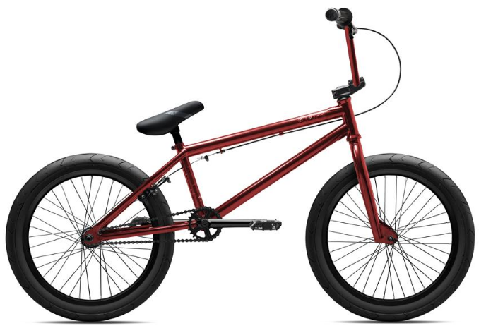"2017 Verde Eon XL Trans Red 20"" XL Frame BMX Bike"