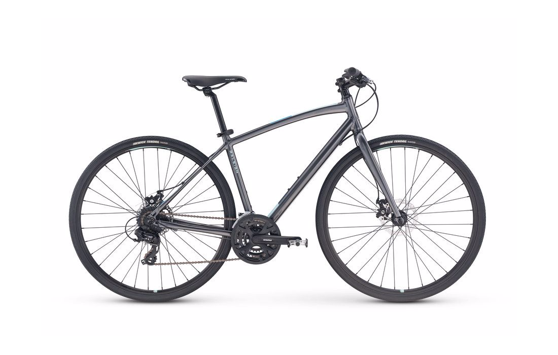 2018 Raleigh Alysa 2 Grey Women's Fitness Hybrid