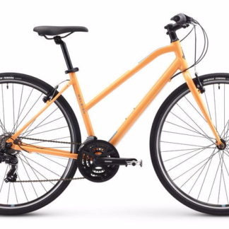 2018 Raleigh Alysa 1 Orange Womens Fitness Hybrid