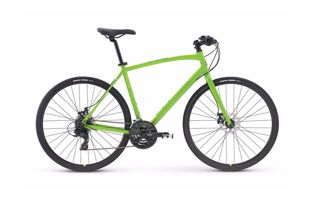 2018 Raleigh Cadent 2 Green Men's Fitness Hybrid