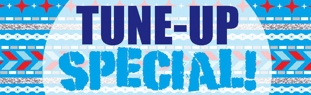 TUNE-UP SPECIAL! ALL TUNE-UPS ARE NOW 20% OFF!
