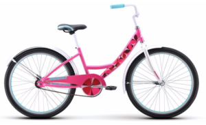"2017 Diamondback Impression 24"" Pink Girl's Single Speed Bike"