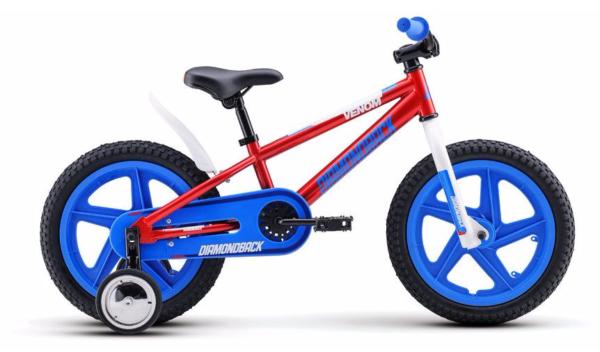 2017 Diamondback Mini Venom 16 Red Boy's Single Speed Bike