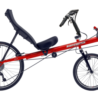 Giro 20 Red Short Wheel Base Recumbent Bicycle