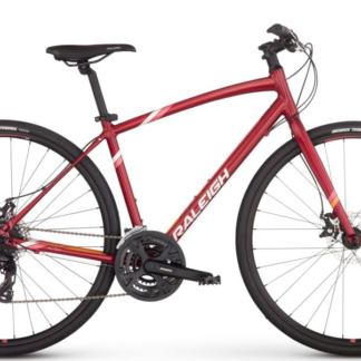 2017 Raleigh Alysa 2 Red Women's Fitness Hybrid