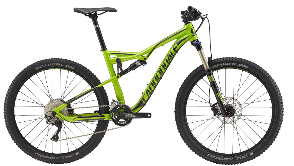 2017 Cannondale Habit 5 Green/Black Men's Full Suspension Mountain Bike