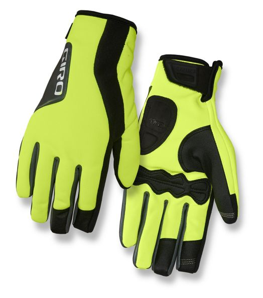 Giro Ambient 2.0 Highlight Yellow Winter Gloves