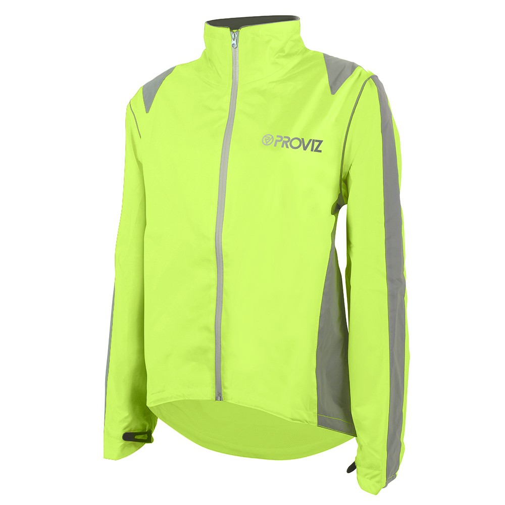 Proviz Nightrider Women's Cycling Jacket Yellow