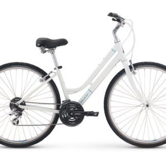 2018 Raleigh Detour 2 Step-Thru White Women's Comfort Hybrid