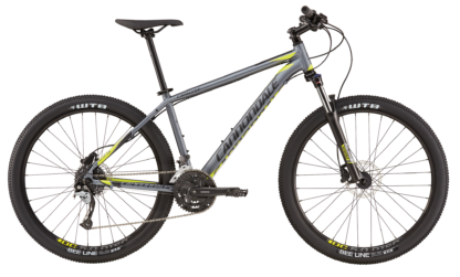 2017 Cannondale Catalyst 1 Silver ATB Hardtail