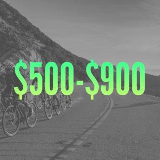 $500-$900
