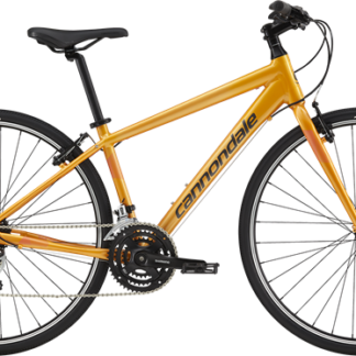 2018 CANNONDALE QUICK 7 ORANGE WOMENS FITNESS HYBRID