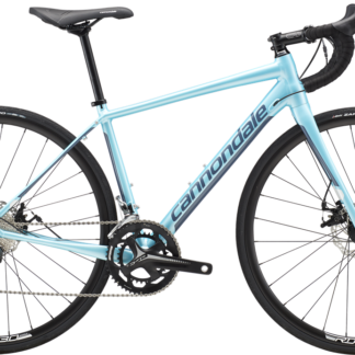 2018 CANNONDALE SYNAPSE 6 DISC WOMENS TIAGRA BLUE ENDURANCE ROAD BIKE