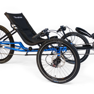 TERRATRIKE GRAND TOURISMO BLUE RECUMBENT TRIKE