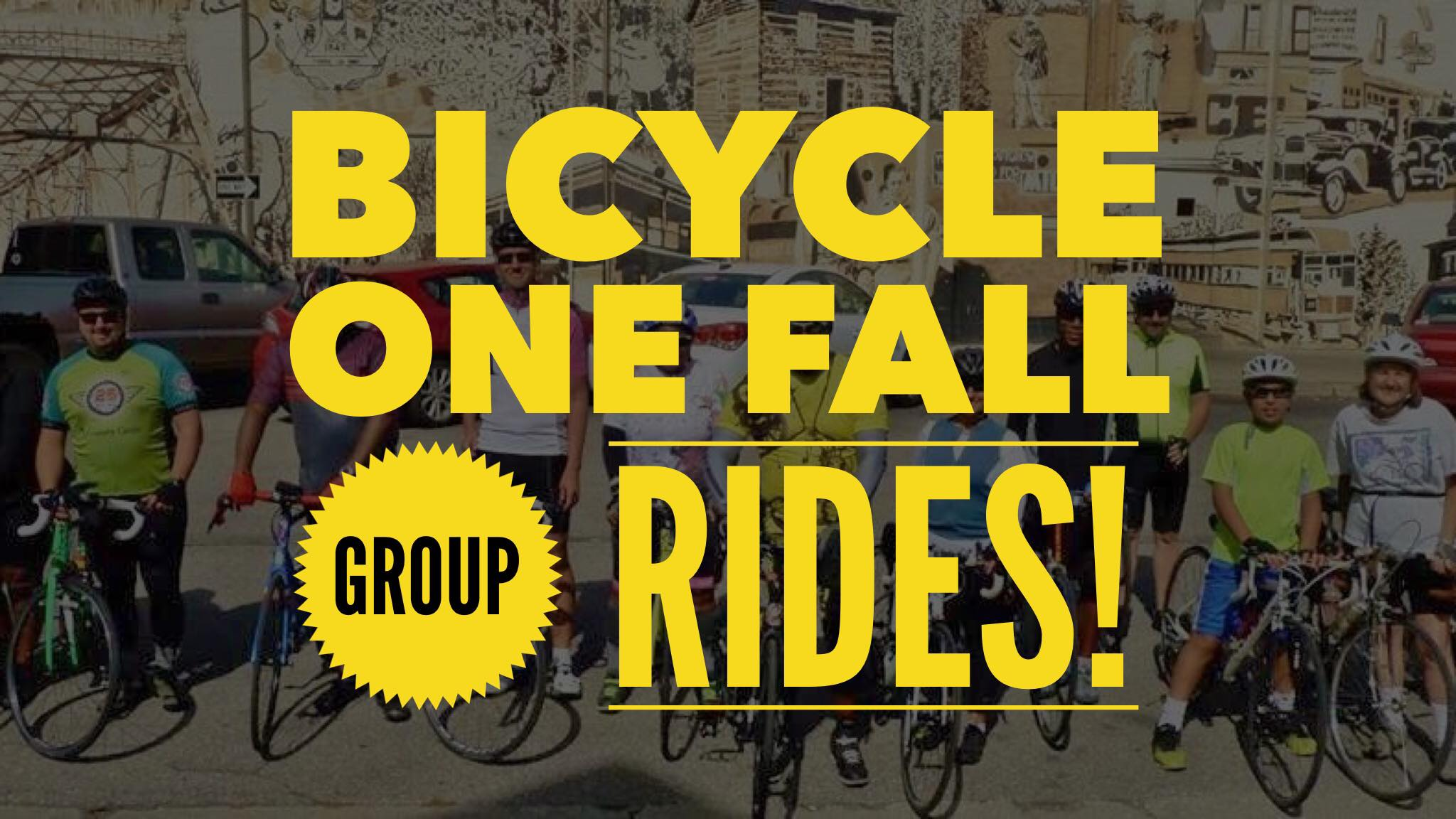 BICYCLE ONE FALL GROUP RIDES