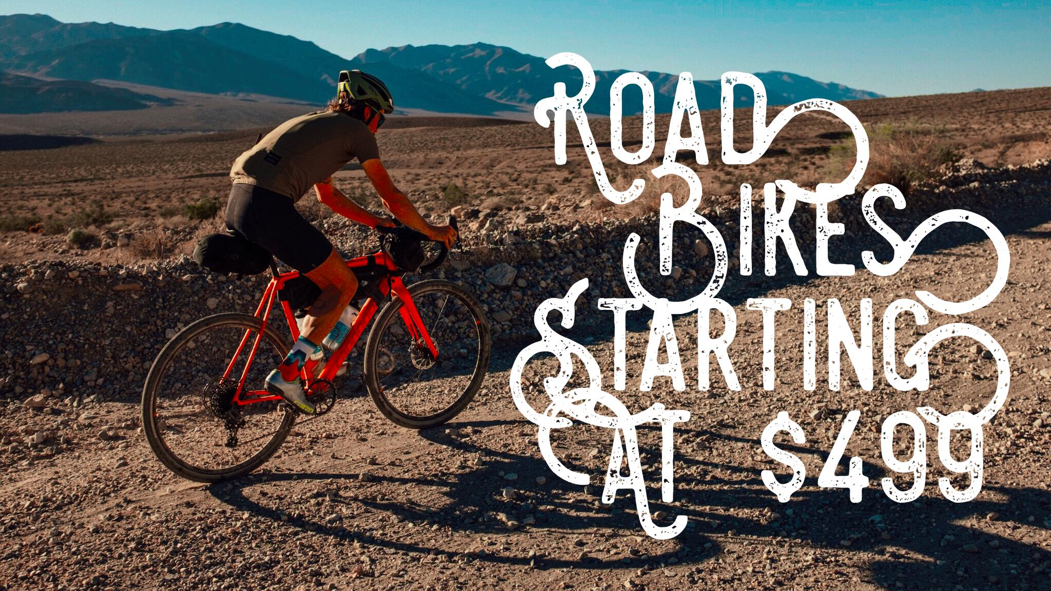 ROAD BIKES STARTING AT $499